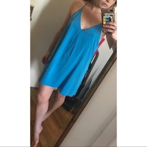 Alice + Olivia Dresses - Alice + Olivia Racer Back Mini Dress